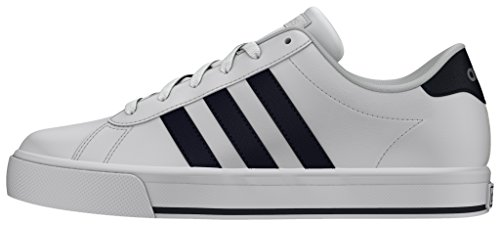 adidas Daily, Chaussures de Sport Homme Blanc (Ftwbla / Maruni / Plamat)