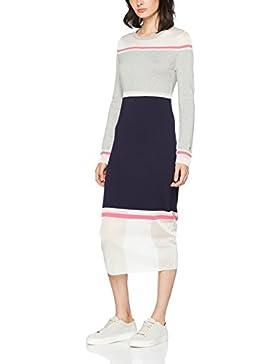 Tommy Hilfiger Damen Kleid Gelda Sheer Contrast Dress