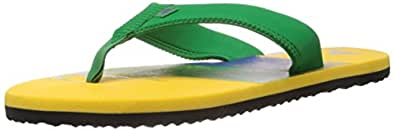 adidas Men's Chesil Fair Way and True Blue Rubber Flip-Flops and House Slippers - 8 UK