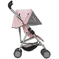Silver Cross Silla de Paseo para muñecas Pop MAX: Tejido Vintage Pink . Recomendado para