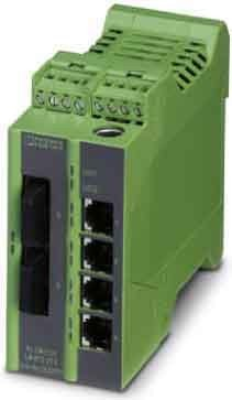 Phoenix Contact Ethernet Lean Managed FL Switch LM 4TX/2FX Switches Netzwerk Switch 4046356101127 -