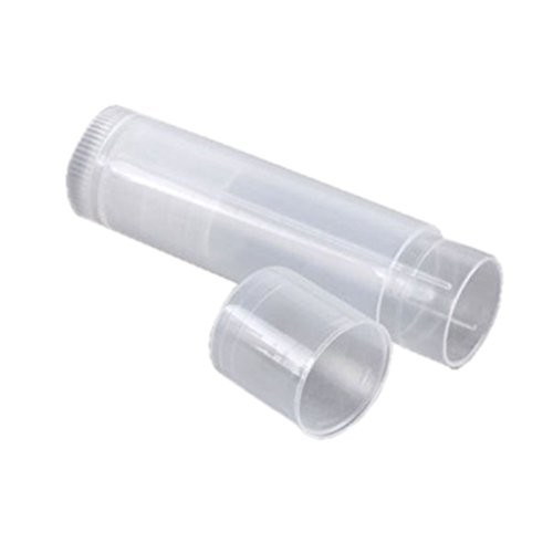 ROSENICE 25pcs Tubi vuoti Lip Gloss Balsamo Clear Mini contenitori