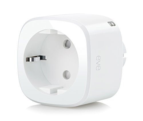 Elgato Eve Energy Sensore di Corrente ed Interruttore Wireless, Abilitato Apple HomeKit,...