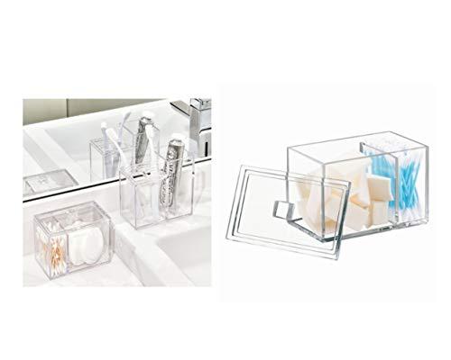 InterDesign Luci caja almacenamiento tapa | Bote discos