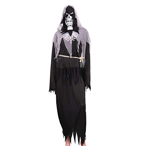 Toyvian Halloween-Engel des Todes Cosplay-Kostüm für Damen und Herren (Engel Des Todes Kostüm Herren)