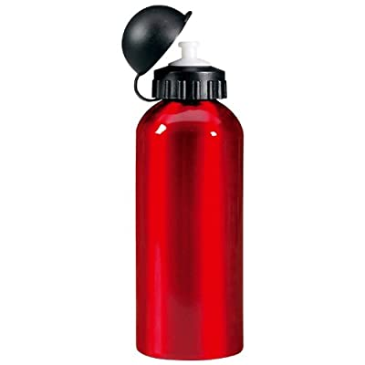 Metall-Trinkflasche 0,6 l - Kinder Trinkflasche (rot)