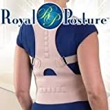 #9: Buyerzone Royal Posture by BulbHead (L/XL) - The Amazing Back Support Belt that Aligns Your Spine, Posture Corrector Brace