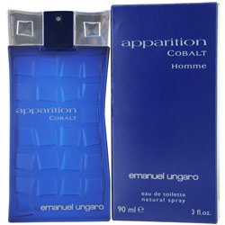 Emanuel Ungaro Apparition Cobalt Eau De Toilette for men 3 oz by Emanuel Ungaro