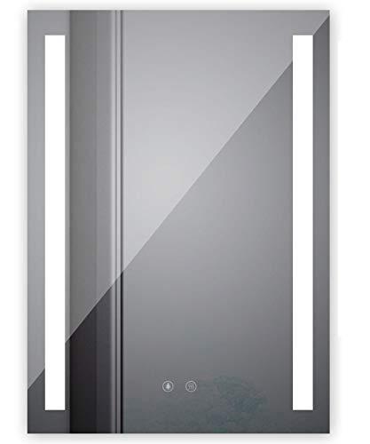 Sogoo New 60x80 cm 12W Espejo LED diseño Espejo pared