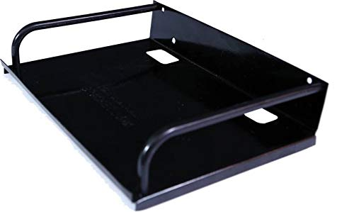 IBS Multi-Purpose Metal Wall Mount Stand for Safety to Set-top Box (Black)