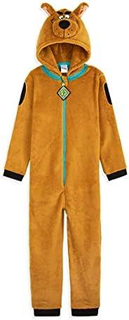Scooby Doo Pigiama Intero Bambino, Pigiamone in Pile 3-14 Anni, Idea Regalo