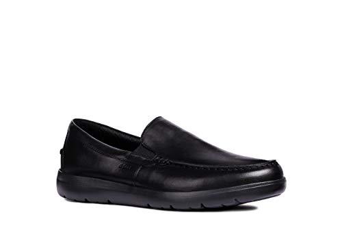 Geox U LEITAN C, Mocassins (Loafers) Homme, Noir (Black...