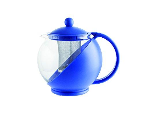 Quid Mint–Teekanne mit Filter 1250 ml blau
