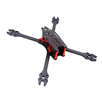 KINGDUO F2 Mito GS Carbon Fiber 195/220/250/275mm Freestyle Stretch x Frame Kit for RC FPV Racing Drone