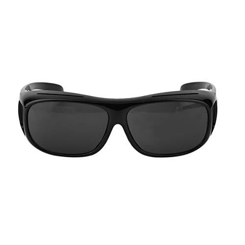 Noradtjcca Mann Frau Nacht Fahren Brille Fahrer Sicherheit Sonnenbrille UV 400 Schutzbrille Brille Anti Glaring Vision
