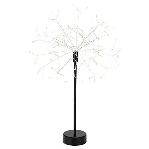 Hängendes Feuerwerk Fairy Tale 200 Led, IP65 Wasserdichter Kupferdraht, Batteriebetrieben, Drahtlose Fernbedienung Bouquet Light, Gartenterrasse Außenleuchte Hochzeitsfeier Weihnachten (Farbe) -