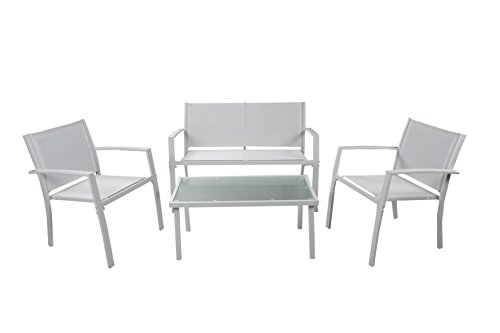 Ciesse Outdoor CS0804B Salottino Adelaide, Bianco