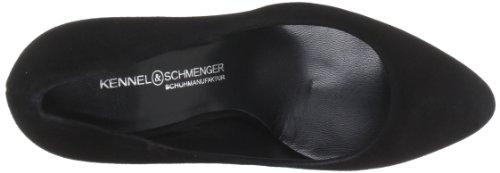 Kennel und Schmenger Schuhmanufaktur Zita Damen Plateau Pumps Schwarz (Schwarz)