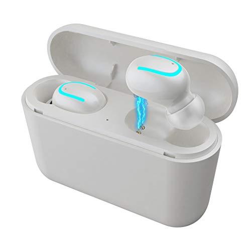 El Mejor TWS Auricular Bluetooth inalámbrico 5.0 Auriculares Deporte Correr Ciclismo Ligero Mini Auriculares inalámbricos Auricular Impermeable IPX5