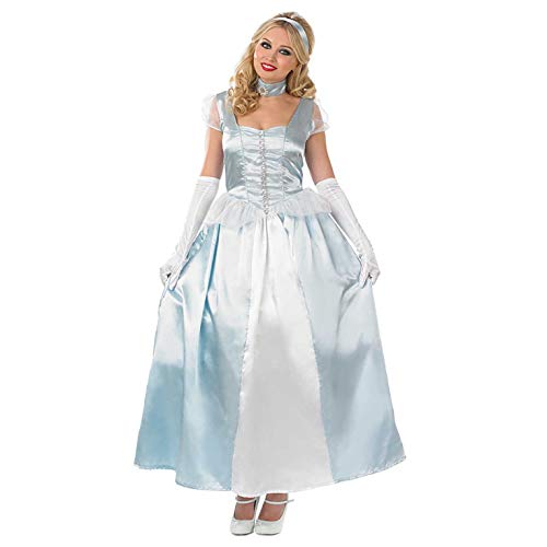 ume Kostüm Womens Blue Princess Gown, m ()