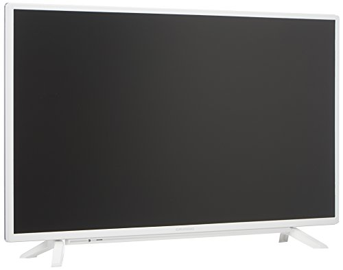 Grundig 40 GFW 6820 102 cm (40 Zoll) LED-Backlight-TV (Full-HD, 1920 x 1080 Pixel, 800 Hz PPR, Triple Tuner (DVB-T2 HD/C/S2), Smart TV), Weiß (40 3d-led-tv)