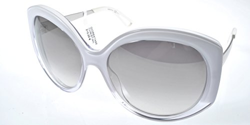 Christian Dior DIOREXTASE1 IZ KXL, Gafas de Sol para Mujer, Blanco (White Cry PD/Grey SF Slvsp A), 58