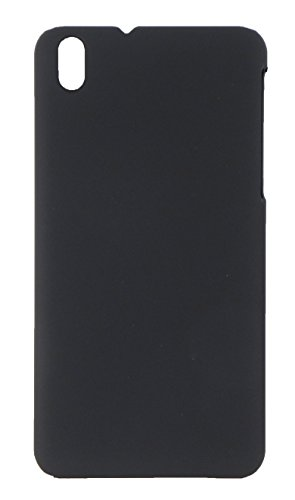 HTC Desire 816 Case Back Cover Matte Rubber Velvet Finish - Black
