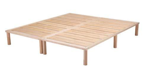 Gigapur G1 26998 Bett | Bettgestell mit Lattenrost | belastbar bis 195 kg je Element | Holzbett 180 x 200 cm