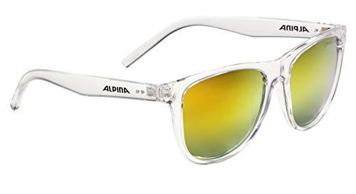 ALPINA Erwachsene Ranom Sonnenbrille, transparent, One Size