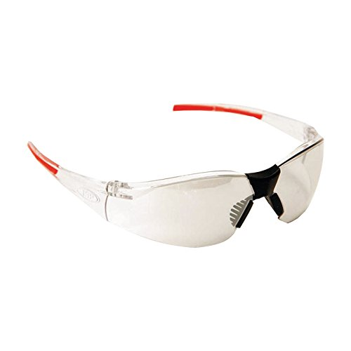 JSP Schutzbrille Stealth 8000 transparent - silber Indoor / Outdoor kratzfest""
