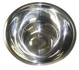 Metaltex - Tazón para mezclar, acero inoxidable, 7,4 x 20 x 20 cm, 20 cm diámetro