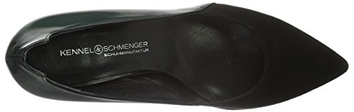 Kennel und Schmenger Schuhmanufaktur - Liz, Scarpe col tacco Donna Nero (Schwarz (schwarz 380))