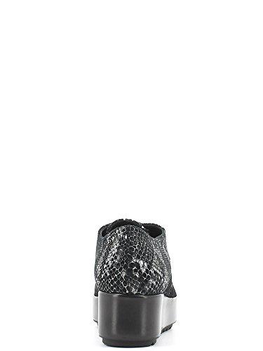 Alviero Martini 1_ Classe Junior MA10104 Bottes Femme Cuir Noir - Noir