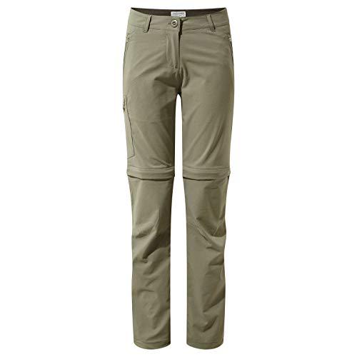 Craghoppers Womens Nosi Life Pro Convertible Zip Off Pants (Zip-off-leg-pants)
