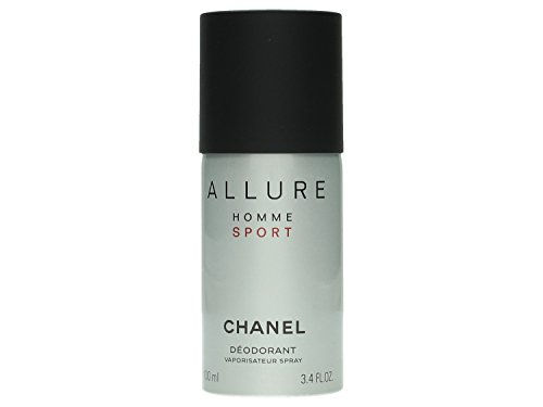 Chanel Allure Homme Sport Men, Deodorant, 1er Pack (1 x 100 ml) (De Parfüm Allure Chanel)