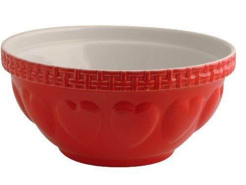 Mason Cash Bol à mélanger S12 en faïence résistant aux écailles, 29 cm, Céramique, Red, 29 x 29 x 14 cm
