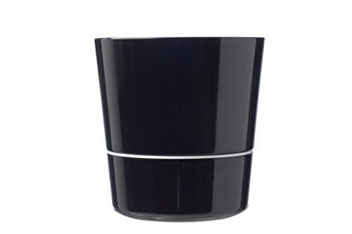 Rosti Mepal Pot Hydro pour Plantes Aromatiques Irrigation Par Capillarité Diamètre: 13 cm Noir