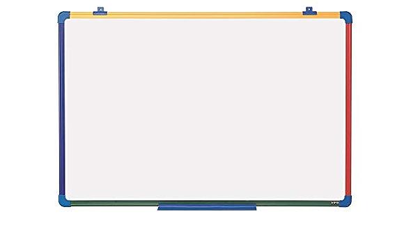 Id/éal pour les enfants et les enfants Tableau blanc de cuisine Tableau blanc magn/étique grand tableau blanc avec 3 stylos effa/çables /à sec // 2 aimants // tableau effa/çable /à sec 500 mm x 700 mm