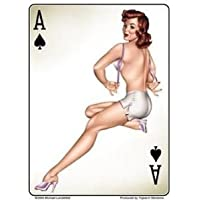 Michael Landefeld - Retro Ace of Spades Pin-up Hot Sexy