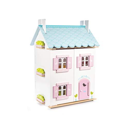Le Toy Van Puppenhaus aus Holz, Blau - Kinder-möbel-etagenbetten