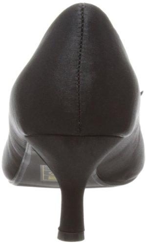 Unbekannt Flr182 Damen Peep-Toe Schwarz