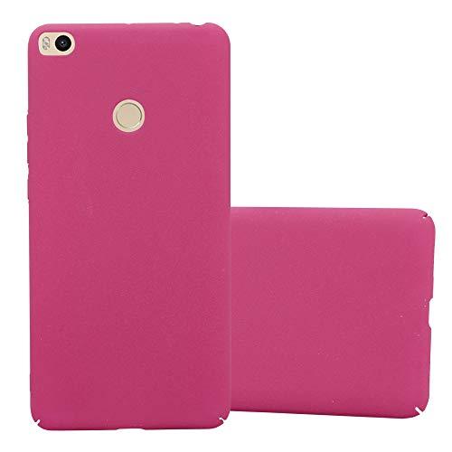 Cadorabo Funda para Xiaomi Mi MAX 2 en Frosty Rosa - Cubierta Protección de Plástico Duro Super Delgada e Inflexible con Antichoque - Case Cover Carcasa Protectora Ligera