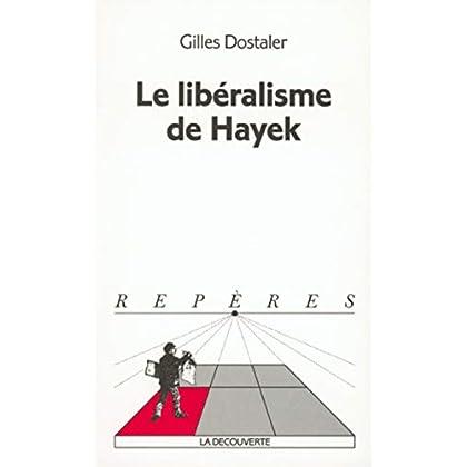 Le libéralisme de Hayek