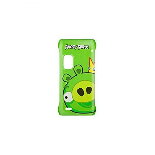 Nokia CC-5001 Hülle Hard Cover Tasche Angry Birds für E7 grün - OVP