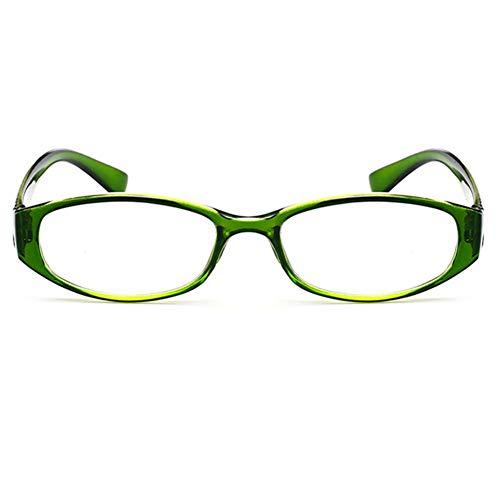 Embryform Gafas de Lectura – Graduadas +3.00 Dioptrías Montura de Pasta de Diseño Moda para Hombre y Mujer con Lentes de Aumento para Leer y Ver de Cerca Patillas con Bisagras de Resorte
