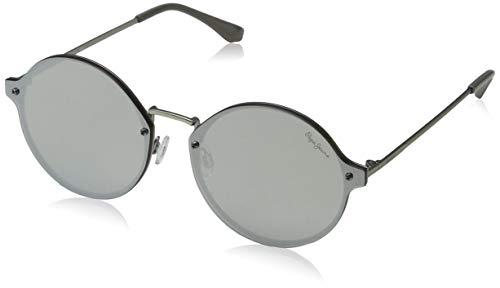 Pepe Jeans Unisex-Erwachsene Magan Sonnenbrille, Braun (Copper/Brown), 63.0