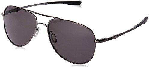 Oakley Unisex-Erwachsene Elmont M & L 411914 Sonnenbrille, Schwarz (Negro), 58
