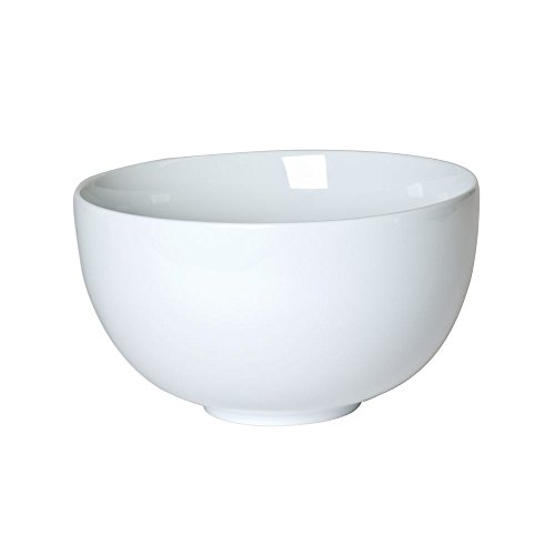 TABLE PASSION - SALADIER PORCELAINE BLANCHE 23 CM FORME BOULE