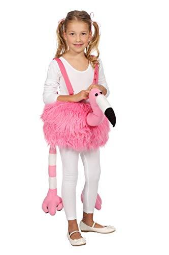 Flamingo Kostüm Kind - Wilbers Kinder Kostüm Flamingo zum Überhängen Karneval Fasching