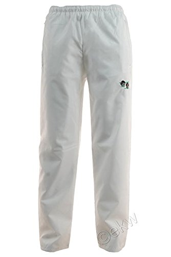 Bowling Trousers Waterproof White Bowls Logo Outdoor Lawn Pants Bottoms
